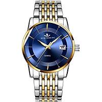 Đồng hồ nam FOuRRON F289 santafe watch 2020  Lịch ngày dây thép không gỉ cao cấp