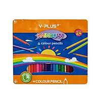 Bút chì màu gỗ Rainbow YPlus 24 màu hộp thiếc Z010RB