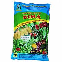 Chế phẩm sinh học BIMA chứa nấm đối kháng Tricoderma - ủ phân và kháng bệnh (1kg)