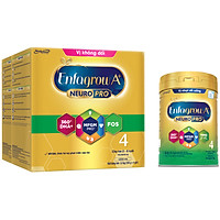 Bộ 2 hộp Sữa bột Enfagrow A+ Neuropro 4 cho trẻ từ 2 – 6 tuổi – 2.2kg (bao bì mới) - Tặng 1 lon Enfagrow A+ Neuropro 4 830g