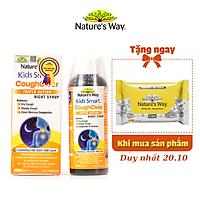 Siro Uống Nature's Way Kids Smart Cough Clear Night Syrup Giảm Ho, Long Đờm, Tăng Cường Sức Khoẻ Hệ Hô Hấp 120ml