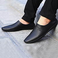 Giày Lười Da Nam Đế Khâu Mã SEN05