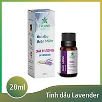 Tinh dầu Hoa Oải Hương Lavender - Island - 20ml