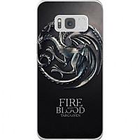 Ốp Lưng Cho Điện Thoại Samsung Galaxy S8 Game Of Thrones - Mẫu 372