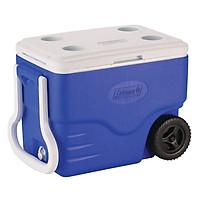Thùng Giữ Nhiệt Coleman 6240A718G - 37.8L - Xanh 40 QT Wheeled Cooler (Blue)