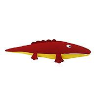 Gối Ôm Hình Con Cá Sấu Hometex - Đỏ (95 x 30 cm)