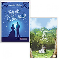 Combo sách ngôn tình hay : Tình yêu tìm thấy + Chạm tới yêu thương - Tặng kèm bookmark thiết kế