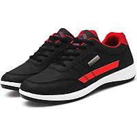 Giày Thể Thao Sneaker Cao Cấp Pettino PS18 (Đen Đế Trắng)