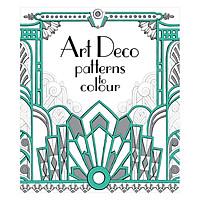 Usborne Art Deco Patterns to Colour