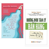 Combo 2 cuốn marketing chuyện sâu và hiệu quả: Những Đòn Tâm Lý Trong Bán Hàng + Trải Nghiệm Khách Hàng Xuất Sắc