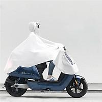 Áo mưa người lớn Xiaomi Qualitell, chống gió, chống ướt, phù hợp cho du lịch, cắm trại, đi bộ đường dài hay làm áo mưa đồng phục(trắng)