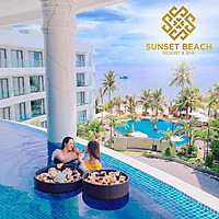 Sunset Beach Resort & Spa 4* Phú Quốc - Buffet Sáng, 02 Hồ Bơi Vô Cực, Bãi Biển Riêng, Đón Tiễn Sân Bay, Bar Ngắm Hoàng Hôn Cực Đẹp, Ngay Trung Tâm Dương Đông
