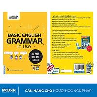 Sách - Ngữ Pháp Tiếng Anh Căn Bản Phiên Bản 1 Màu Bìa Vàng Dành Cho Người Mới Bắt Đầu - Kèm App Học Online