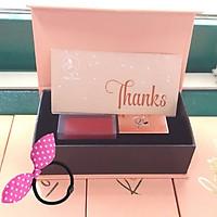 Son Roses Kem Lì Cao Cấp Mini Garden Màu Đỏ San Hô - Roses Matte Lipstick 2019 - Tặng Kèm Cột Tóc Tai Thỏ Màu Ngẫu Nhiên