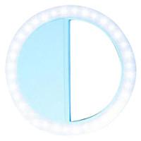 Đèn LED Chụp Ảnh Selfie Tròn Gắn Điện Thoại