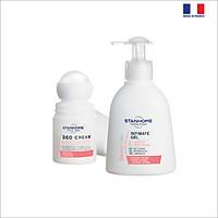 Bộ dung dịch vệ sinh vùng kín Intimate gel 200ml và lăn khử mùi Deo cream 50ml