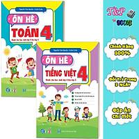 Sách - Combo Tập Hè Toán và Tiếng Việt 4 - Dành cho học sinh lớp 4 lên lớp 5 (2 cuốn)