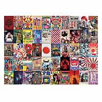 JAPAN - Set 50 tấm 22x30cm decal dán tường trang trí decor quán nhà cửa chủ đề Nhật Bản