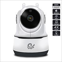 Camera Ip Giám Sát Chống Trộm Không Dây Thông Minh Model CARE PAF-200 Độ Phân Giải 2.0Mpx - Kết Nối Trực Tiếp Với Điện Thoại, Máy Tính, Ipad - Dùng APP CARECAM PRO - Nhập Khẩu