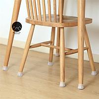 Bọc chân ghế bàn tủ bằng silicon cao cấp chống trầy xước nền nhà và giảm tiềng ồn chống trơn trượt