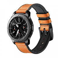 Dây da Hybrid cho Galaxy Watch 46, Gear S3, Huawei GT Size 22mm