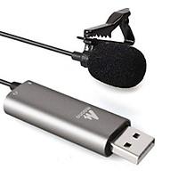 Micro gài áo Maono Lavalier AU-411 USB- Hàng chính hãng