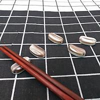 Bộ 5 chiếc Gác đũa Xà Cừ Cửu Khổng hình hạt Mít Mini 2,5cm - Phụ kiện giúp bàn ăn sang trọng (R5)