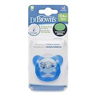 TY NGẬM ĐƠN PHÁT SÁNG CON CỪU DR BROWN'S (0-6M) màu xanh