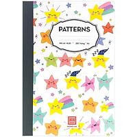 Sổ Ghi Chép Patterns 200 Trang A4 4530 - Mẫu 3 - Màu Trắng