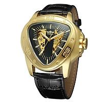 Đồng hồ đeo tay sang trọng thiết kế mặt hình tam giác vàng