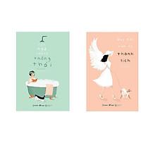 Combo Emiko Kato - Quy Tắc Của Sự Thanh Lịch + Ngôn Ngữ Của Sự Thông Thái ( Bộ 2 Cuốn ) - Tặng Kèm Móc Khoá