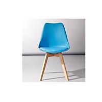 Ghế nhựa chân gỗ