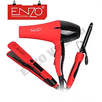 Combo bộ 3 sản phẩm chăm sóc tóc cao cấp thương hiệu ENZO- Bộ sản phẩm chăm sóc tóc dành cho Salon