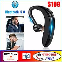 Tai Nghe Bluetooth 5.0 Bass Mạnh Siêu Trầm S109, Pin 300mAh, Kết Nối Được 2 Điện Thoại