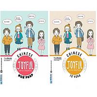 Combo Joyful Chinese - Vui Học Tiếng Trung - Ngữ Pháp Và Từ Vựng Tặng Kèm Sổ Tay NP03