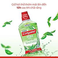 Nước súc miệng Colgate diệt 99% vi khuẩn Plax trà xanh 750ml