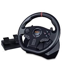 Vô lăng chơi game 900 độ PXN V900 kèm chế độ rung dùng cho PC/PS3/PS4/Xbox one/Nintendo switch - Hàng nhập khẩu