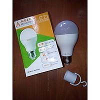 Đèn tròn tích điện 9W ASIA Model: ĐT9E (ánh sáng trắng)