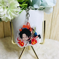 Móc khóa mica trong One Piece Đải hải tặc quà tặng xinh xắn dễ thương chibi anime tặng thẻ Vcone