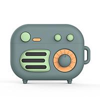 Bao Case Cho Airpods Pro Hình Radio Retro