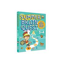 Summer Brain quest 3&4 - sách phát triển tư duy cho bé ( tiếng anh, 8-9 tuổi )