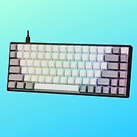 Bàn Phím Cơ chuyên GAME EDRA EK384 - Keycaps PBT - LED RGB - Hàng Chính Hãng