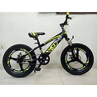Xe đạp thể thao bé trai cao cấp vành đúc bánh to giao màu ngẫu nhiên