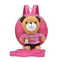 Balo mầm non cho bé hình gấu