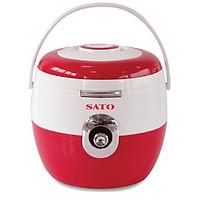 Nồi cơm điện SATO S18-89C(Đ) 1.8 lít (Màu đỏ) - Hàng chính hãng