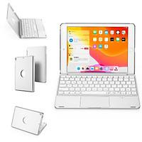 Bàn phím cho iPad màn hình 9.7 inch - 7 màu đèn cho bàn phím - Có touchpad tiện lợi - Hàng chính hãng