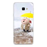 Ốp lưng dẻo cho Samsung Galaxy J4 Core_0385 Pig 25 - Hàng Chính Hãng