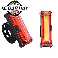 Đèn LED Nháy Sau Xe Đạp   Bicycle Tail Light HYD186   Sạc USB Sáng Liên Tiếp 15 Giờ    Khả năng hiển thị lên tới 150m