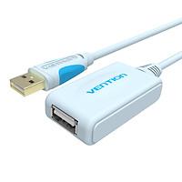 Cáo nối dài USB 2.0 có chip khuếch đại Vention VAS-C01 (5m-15m) - Hàng chính hãng