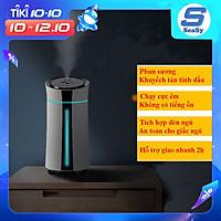 Máy phun sương tạo ẩm không khí SEASY SS01, máy xông và khuyếch tán tinh dầu dung tích 1.15 lít với 2 chế độ phun, tích hợp đèn ngủ tự thay đổi màu sắc - Hàng chính hãng